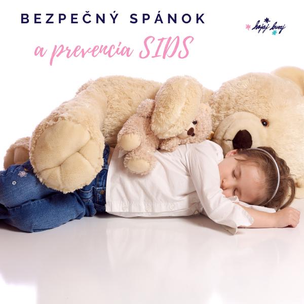 bezpečný spánok a prevencia SIDS
